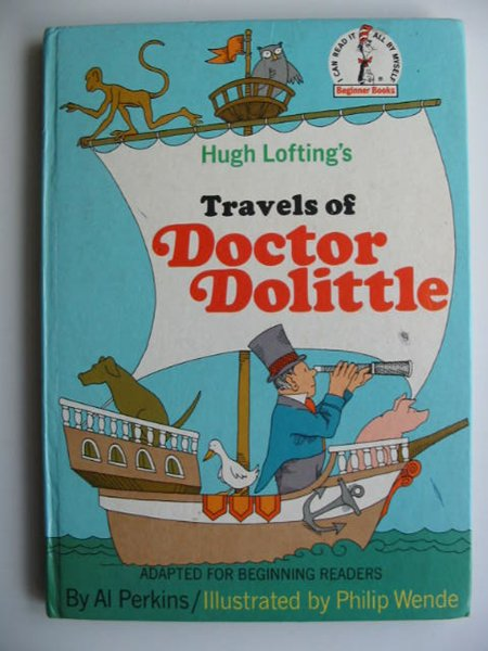 Photo of TRAVELS OF DOCTOR DOLITTLE written by Lofting, Hugh Perkins, Al illustrated by Wende, Philip published by Collins & Harvill (STOCK CODE: 819369)  for sale by Stella & Rose's Books