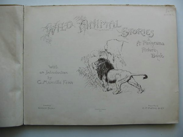 Photo of WILD ANIMAL STORIES written by Fenn, George Manville