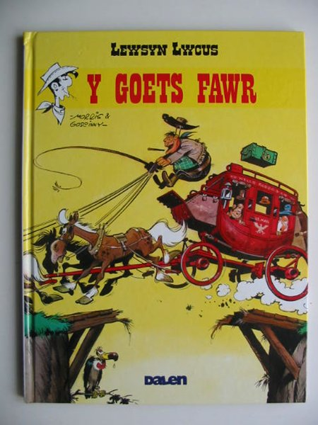 Photo of LEWSYN LWCUS: Y GOETS FAWR written by Goscinny, Rene Jones, Dafydd Jones, Alun Ceri illustrated by Morris,  published by Dalen (STOCK CODE: 819581)  for sale by Stella & Rose's Books