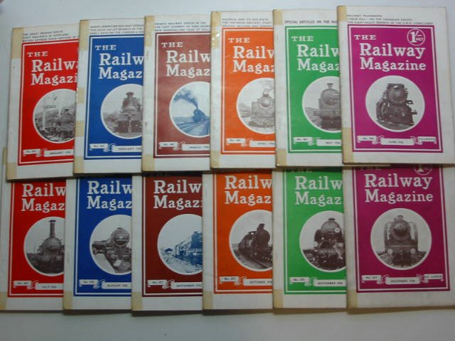 Photo of THE RAILWAY MAGAZINE FOR 1936 published by The Railway Publishing Co. Ltd. (STOCK CODE: 819679)  for sale by Stella & Rose's Books