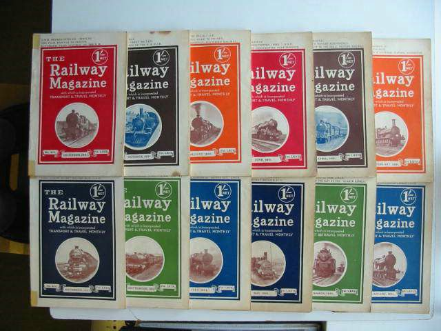 Photo of THE RAILWAY MAGAZINE FOR 1931 published by The Railway Publishing Co. Ltd. (STOCK CODE: 819682)  for sale by Stella & Rose's Books