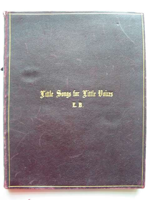 Photo of LITTLE SONGS FOR LITTLE VOICES written by Gatty, Alfred Scott published by Metzler & Co. (STOCK CODE: 820381)  for sale by Stella & Rose's Books