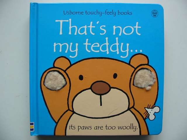 Photo of THAT'S NOT MY TEDDY written by Watt, Fiona illustrated by Wells, Rachel published by Usborne Publishing Ltd. (STOCK CODE: 820642)  for sale by Stella & Rose's Books