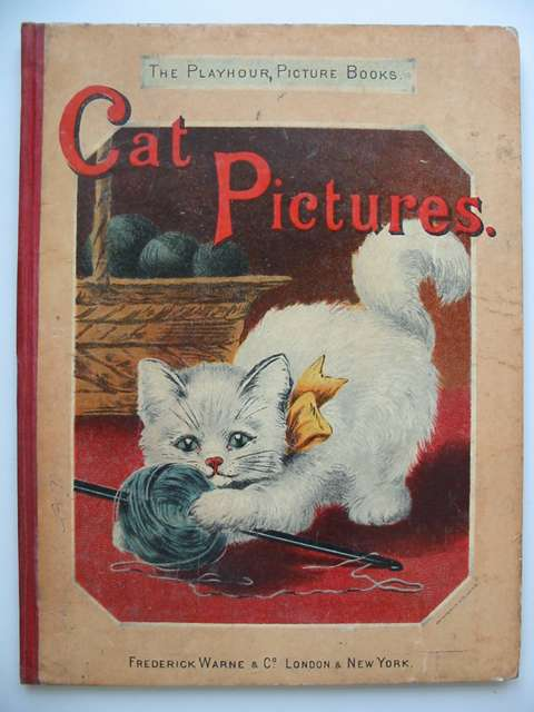 Photo of CAT PICTURES written by Valentine, Mrs. illustrated by Wain, Louis Ronner, Henriette published by Frederick Warne & Co. (STOCK CODE: 821218)  for sale by Stella & Rose's Books