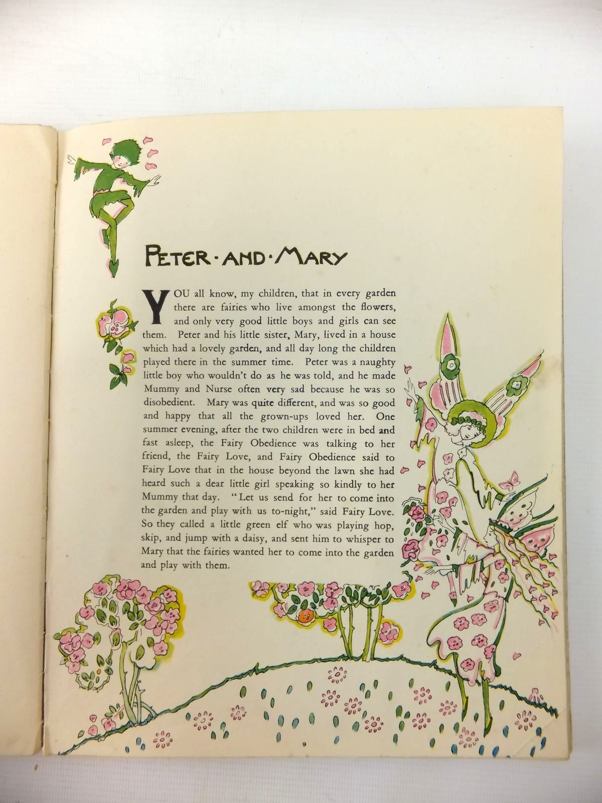 Photo of MUMMY'S BEDTIME STORY BOOK written by Marion,  illustrated by King, Jessie M. published by Cecil Palmer (STOCK CODE: 821398)  for sale by Stella & Rose's Books