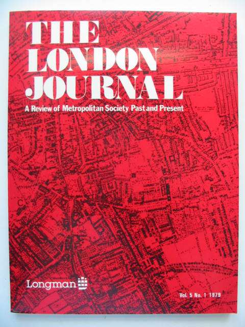 Photo of THE LONDON JOURNAL VOL.5 No.1 1979 published by Longman (STOCK CODE: 821434)  for sale by Stella & Rose's Books