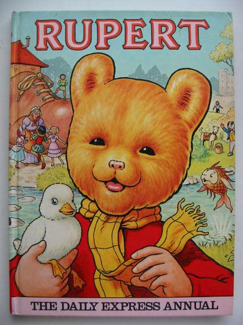 Photo of RUPERT ANNUAL 1981 illustrated by Harrold, John published by Express Newspapers Ltd. (STOCK CODE: 822392)  for sale by Stella & Rose's Books
