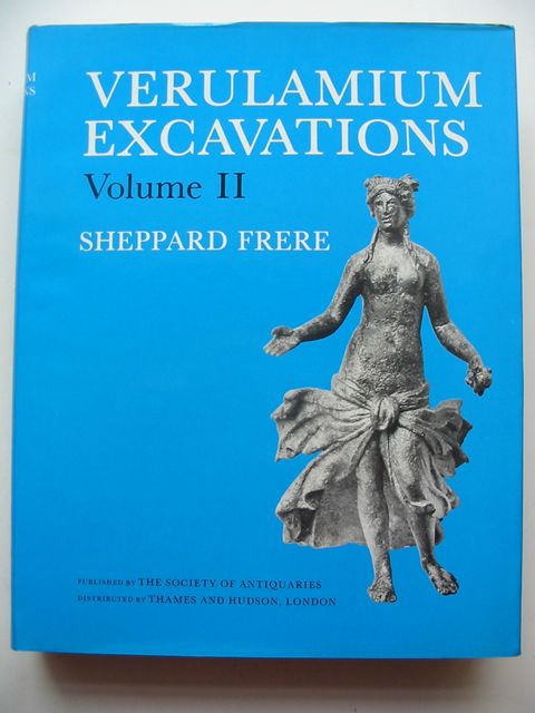 Photo of VERULAMIUM EXCAVATIONS VOLUME II written by Frere, Sheppard published by The Society of Antiquaries (STOCK CODE: 823218)  for sale by Stella & Rose's Books