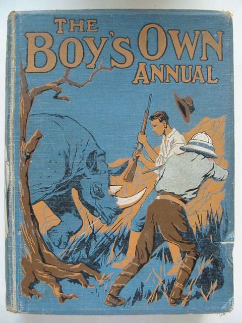 Photo of THE BOY'S OWN ANNUAL VOL 44- Stock Number: 823452