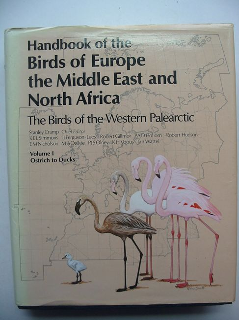 Photo of HANDBOOK OF THE BIRDS OF EUROPE THE MIDDLE EAST AND NORTH AFRICA VOLUME I OSTRICH TO DUCKS written by Cramp, Stanley et al,  illustrated by Coombs, C.J.F. Cusa, Noel W. Gillmor, Robert Hayman, Peter Scott, Peter published by Oxford University Press (STOCK CODE: 823648)  for sale by Stella & Rose's Books