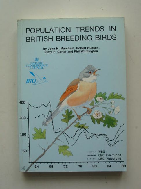 Photo of POPULATION TRENDS IN BRITISH BREEDING BIRDS written by Marchant, John H. Hudson, Robert Carter, Steve P. Whittington, Phil published by British Trust for Ornithology (STOCK CODE: 823818)  for sale by Stella & Rose's Books