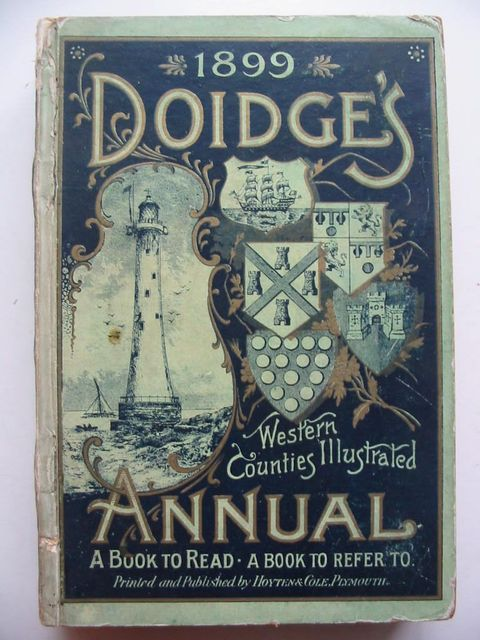 Photo of DOIDGE'S WESTERN COUNTIES ILLUSTRATED ANNUAL 1899- Stock Number: 824326