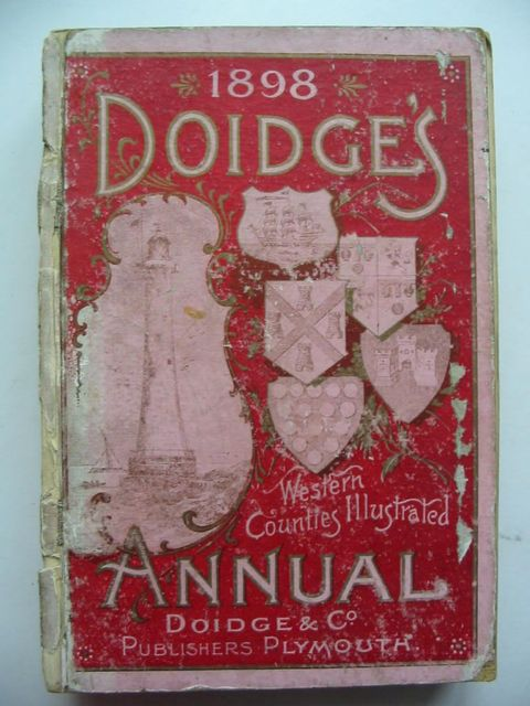 Photo of DOIDGE'S WESTERN COUNTIES ILLUSTRATED ANNUAL 1898- Stock Number: 824327