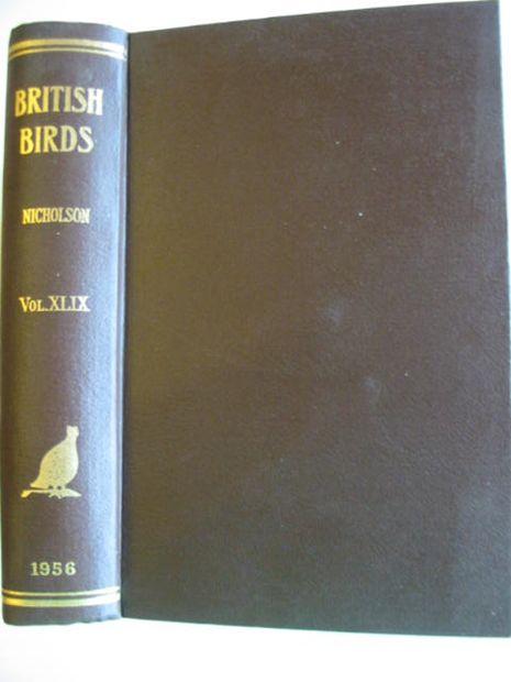 Photo of BRITISH BIRDS VOL. XLIX- Stock Number: 875013
