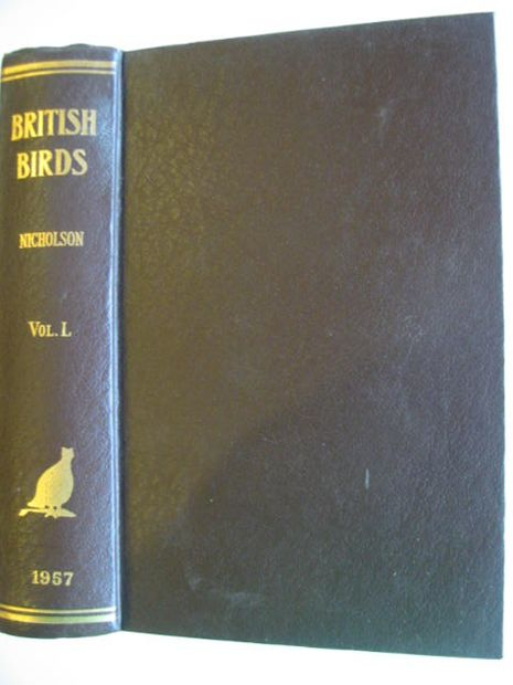 Photo of BRITISH BIRDS VOL. L- Stock Number: 875014
