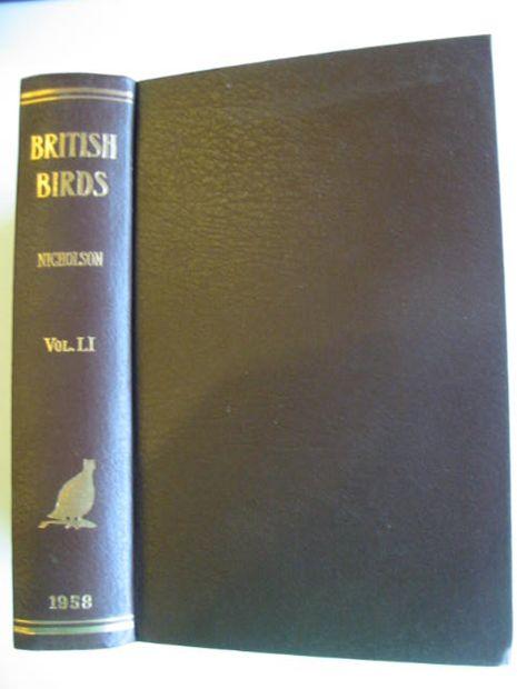 Photo of BRITISH BIRDS VOL. LI- Stock Number: 875015
