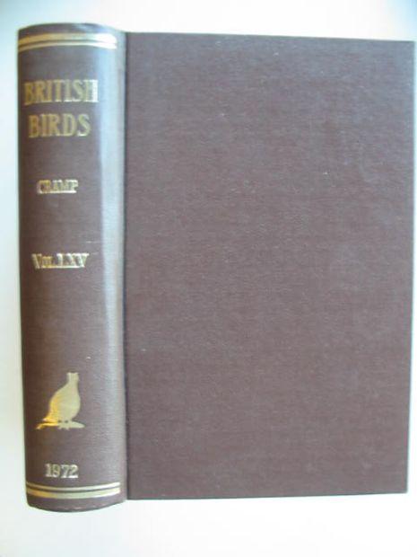 Photo of BRITISH BIRDS VOL. LXV- Stock Number: 875029