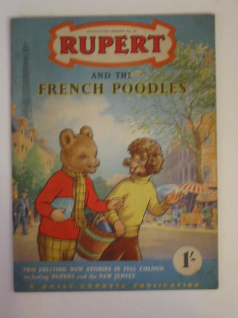 Photo of RUPERT ADVENTURE SERIES No. 25 - RUPERT AND THE FRENCH POODLES written by Bestall, Alfred published by Daily Express (STOCK CODE: 900273)  for sale by Stella & Rose's Books