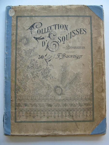 Photo of COLLECTION D'ESQUISSES POUR DESSINATEURS illustrated by Baenziger, F. (STOCK CODE: 900282)  for sale by Stella & Rose's Books