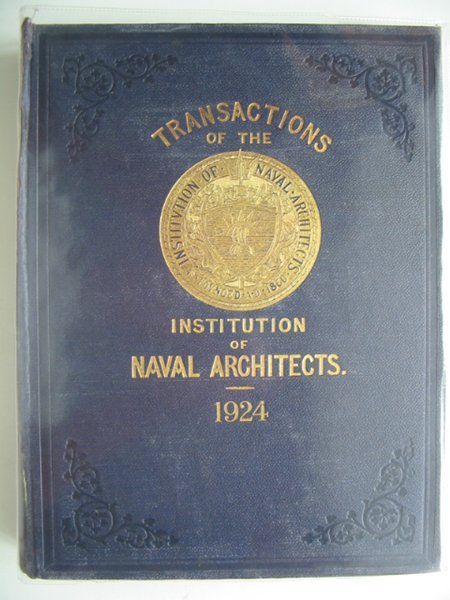 Photo of TRANSACTIONS OF THE INSTITUTION OF NAVAL ARCHITECTS VOLUME LXVI written by Dana, R.W. published by Institution Of Naval Architects (STOCK CODE: 900440)  for sale by Stella & Rose's Books