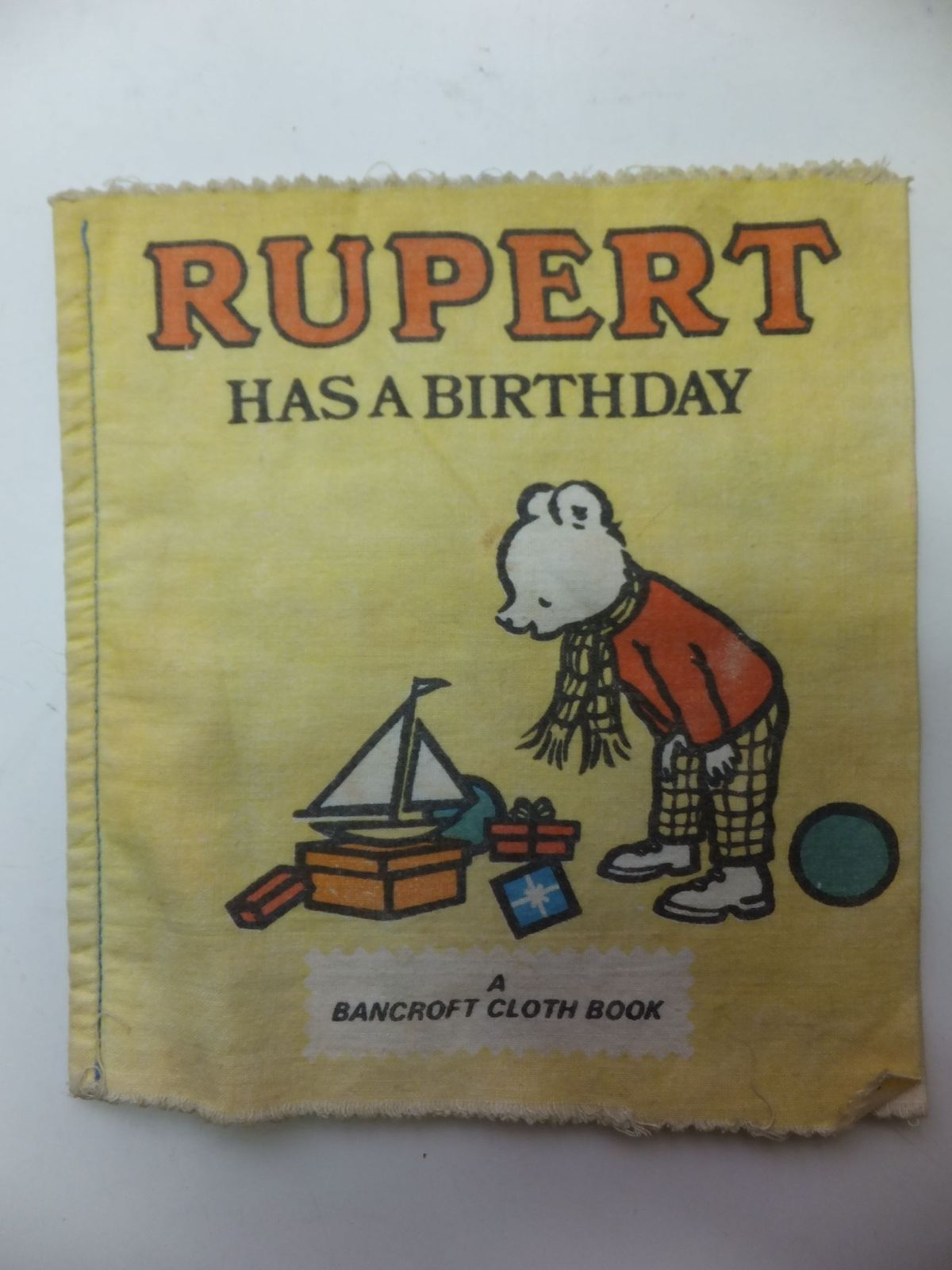 Photo of RUPERT HAS A BIRTHDAY- Stock Number: 900671