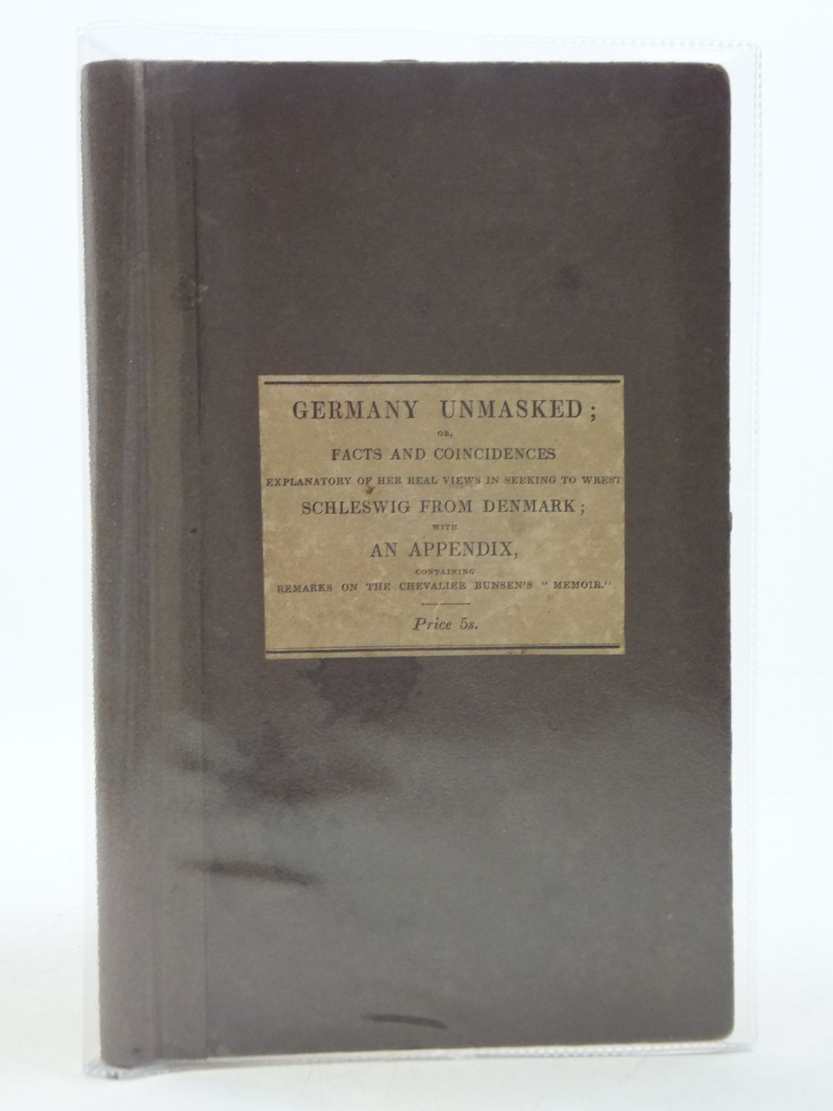 Photo of GERMANY UNMASKED- Stock Number: 986193