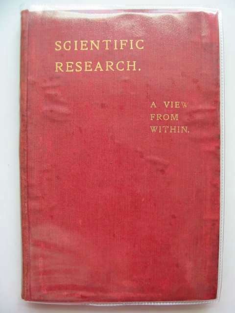 Photo of SCIENTIFIC RESEARCH written by Smith, Stephen published by Elliot Stock (STOCK CODE: 986896)  for sale by Stella & Rose's Books
