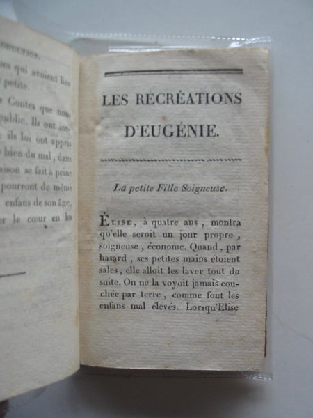 Photo of LES RECREATIONS D'EUGENIE written by De R., Mme. published by Genets, Jeune, Libraire (STOCK CODE: 986948)  for sale by Stella & Rose's Books