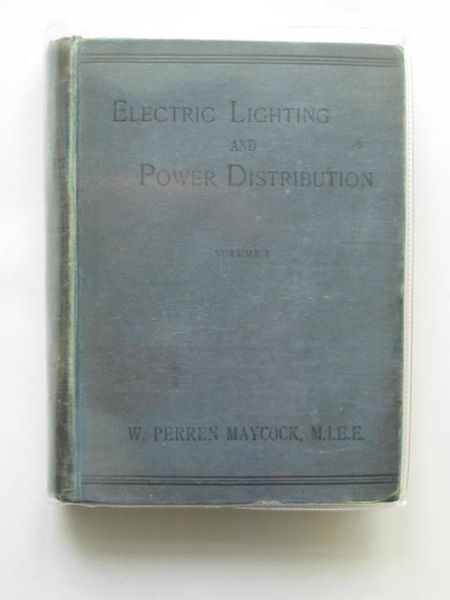 Photo of ELECTRIC LIGHTING AND POWER DISTRIBUTION VOL I- Stock Number: 987091