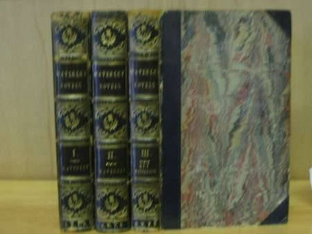 Photo of WAVERLEY NOVELS (3 VOLUMES) written by Scott, Walter published by Cadell And Co. (STOCK CODE: 987729)  for sale by Stella & Rose's Books