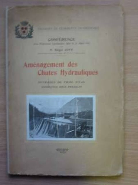 Photo of AMENAGEMENT DES CHUTES HYDRALIQUES published by Chambre De Commerce De Grenoble (STOCK CODE: 987841)  for sale by Stella & Rose's Books