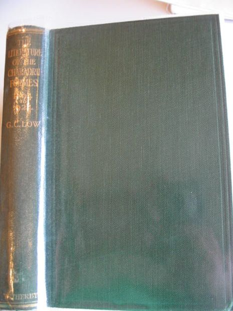 Photo of THE LITERATURE OF THE CHARADRIIFORMES FROM 1894-1924- Stock Number: 987904