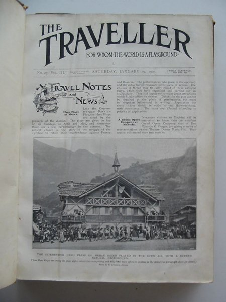 Photo of THE TRAVELLER VOL III (STOCK CODE: 988989)  for sale by Stella & Rose's Books
