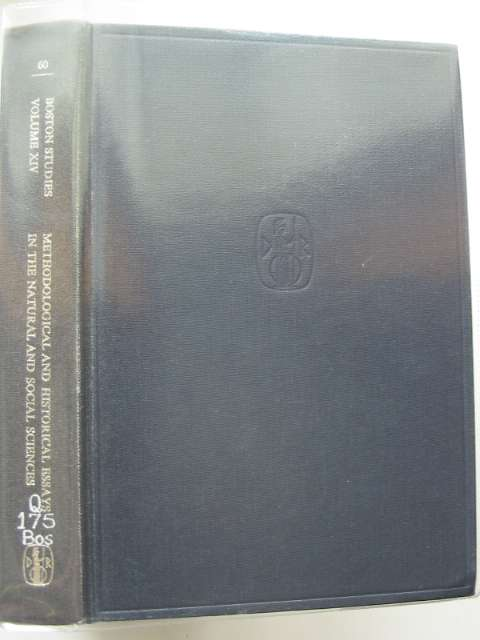 Photo of METHODOLOGICAL AND HISTORICAL ESSAYS IN THE NATURAL AND SOCIAL SCIENCES- Stock Number: 989055