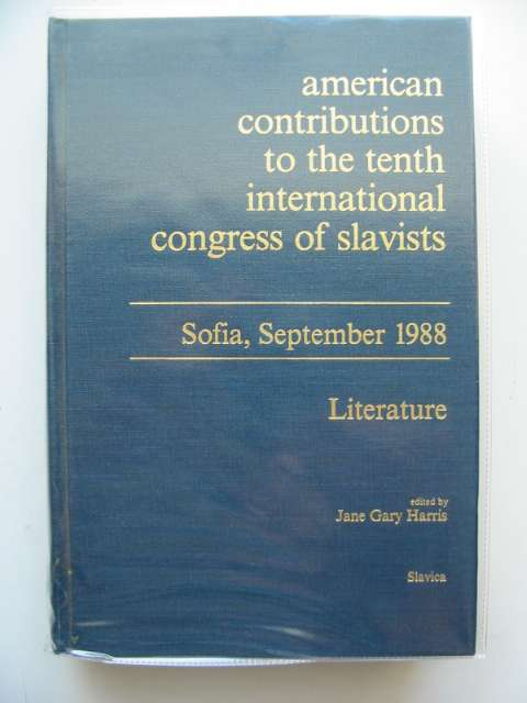 Photo of AMERICAN CONTRIBUTIONS TO THE TENTH INTERNATIONAL CONGRESS OF SLAVISTS- Stock Number: 989478