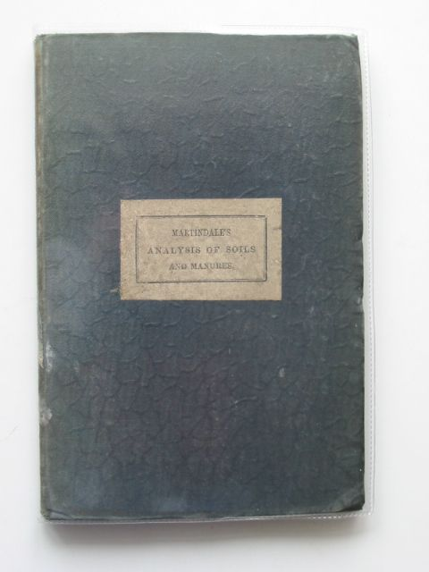 Photo of THE FARMER'S AND GARDENER'S GUIDE TO THE ANALYSIS OF SOILS AND MANURES- Stock Number: 989808