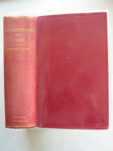 Photo of HANES METHODISTIAETH SIR FFLINT written by Owen, Griffith published by E.W. Evans (STOCK CODE: 990159)  for sale by Stella & Rose's Books