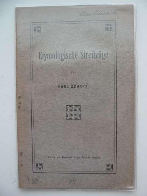 Photo of ETYMOLOGISCHE STREIFZUGE- Stock Number: 990285