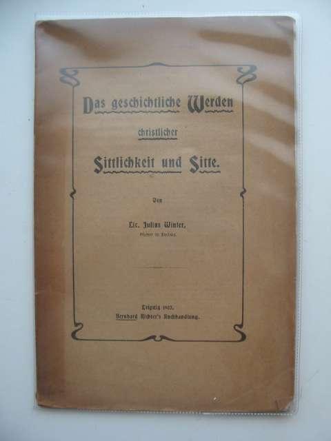 Photo of DAS GESCHICHTLICHE WERDEN CHRISTLICHER- Stock Number: 990287