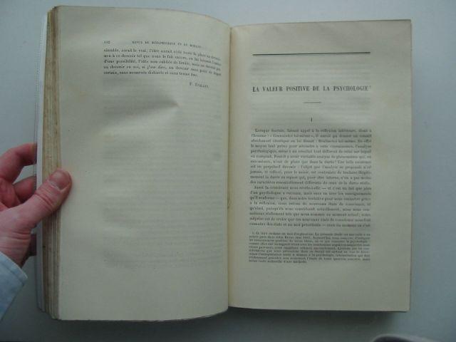 Photo of REVUE DE METAPHYSIQUE ET DE MORALE written by Leon, Xavier<br />et al, published by Librairie Hachette (STOCK CODE: 990432)  for sale by Stella & Rose's Books