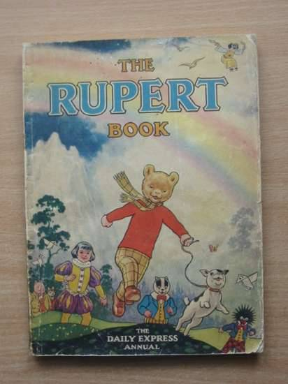 Photo of RUPERT ANNUAL 1948 - THE RUPERT BOOK written by Bestall, Alfred illustrated by Bestall, Alfred published by Daily Express (STOCK CODE: 990546)  for sale by Stella & Rose's Books