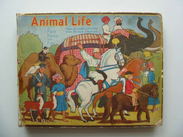 Photo of ANIMAL LIFE IN FACT, FANCY AND FUN written by Giraud, S. Louis published by Daily Sketch & Sunday Graphic Ltd. (STOCK CODE: 990859)  for sale by Stella & Rose's Books