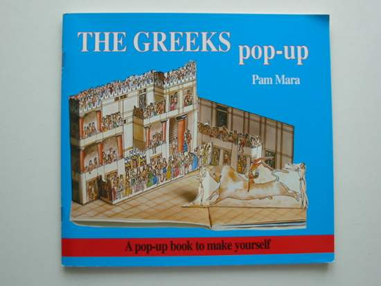 Photo of THE GREEKS POP-UP written by Mara, Pam Jenkins, Gerald published by Tarquin (STOCK CODE: 991405)  for sale by Stella & Rose's Books