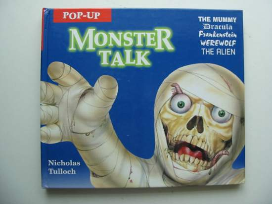 Photo of POP-UP MONSTER TALK written by Tulloch, Nicholas illustrated by Fryer, George<br />Montgomery, Lee published by Electric Paper (STOCK CODE: 991670)  for sale by Stella & Rose's Books